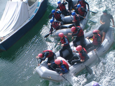 Rafting River Torridge