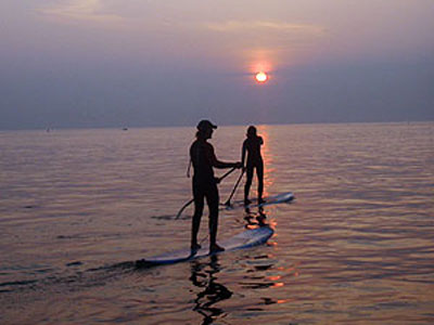 Stand Up Paddle Boarding North Devon