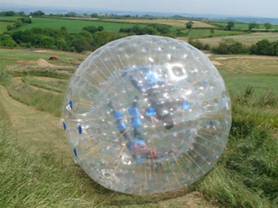 Zorbing North Devon